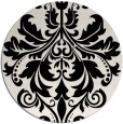 rug #194393 | round white traditional rug