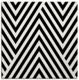 rug #194829 | square black graphic rug