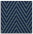 rug #194857 | square blue stripes rug