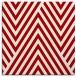 rug #195065 | square red stripes rug