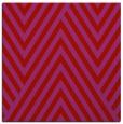 rug #195077 | square red stripes rug