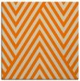 rug #195141 | square orange stripes rug