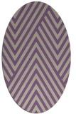 rug #195357   oval beige graphic rug