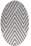 rug #195361 | oval stripes rug
