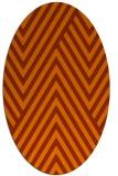 rug #195424 | oval stripes rug