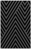 rug #195537 |  black stripes rug