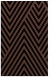 rug #195545    black stripes rug