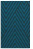 rug #195609 |  blue graphic rug
