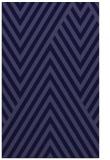 rug #195613 |  blue-violet stripes rug
