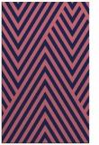 rug #195621    blue-violet graphic rug