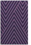 rug #195625 |  purple stripes rug