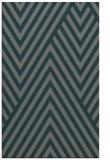 rug #195657 |  blue-green stripes rug