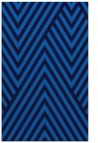 rug #195697 |  blue stripes rug