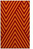 rug #195717 |  orange stripes rug