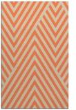 rug #195725 |  orange graphic rug