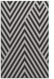 rug #195729 |  orange stripes rug