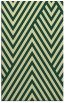 rug #195733 |  blue-green graphic rug