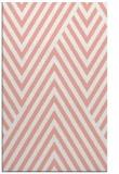 rug #195749    pink stripes rug