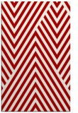 rug #195769 |  red graphic rug