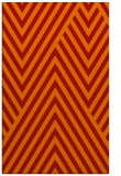 rug #195773    orange stripes rug