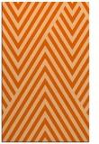 rug #195789 |  red-orange stripes rug