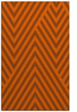 rug #195793 |  red-orange stripes rug