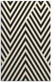 rug #195837    black graphic rug