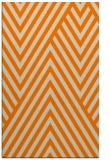 rug #195845    orange graphic rug