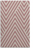 rug #195869    pink stripes rug