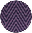 rug #195977 | round purple graphic rug