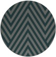 rug #196009 | round green graphic rug
