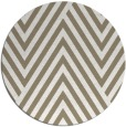 rug #196021 | round mid-brown graphic rug