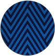 rug #196049 | round blue stripes rug