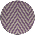 rug #196061 | round purple stripes rug