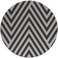 rug #196081 | round orange graphic rug