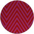 rug #196133   round red stripes rug