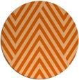 rug #196141   round red-orange stripes rug