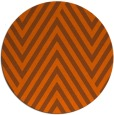 rug #196145 | round red-orange graphic rug