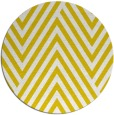 rug #196181 | round yellow graphic rug