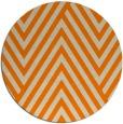 rug #196197 | round orange graphic rug