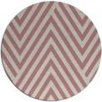 rug #196221 | round pink graphic rug