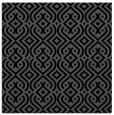 rug #202513 | square black retro rug