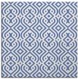 rug #202545   square blue traditional rug