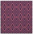 rug #202597 | square blue-violet rug