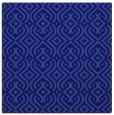 rug #202609 | square blue-violet retro rug