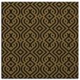 rug #202621 | square black retro rug