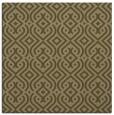 rug #202625 | square brown retro rug
