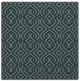 rug #202633 | square green traditional rug