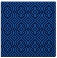 rug #202673 | square blue rug