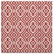 rug #202753 | square red traditional rug